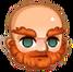 Ginger beard
