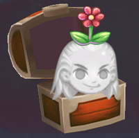 Flower head hat