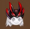 Abyss knight helmet