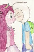 Finn X Princess Bubblegum by samthemeepit
