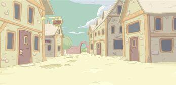 Fluffy village