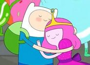 Princess bubblegum and Finn...