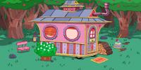 Tree Trunks' House