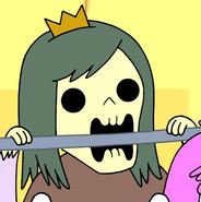 S2e3 Skeleton Princess biting cage