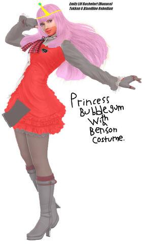 File:Princess Bubblegum With a Benson Costume.jpg