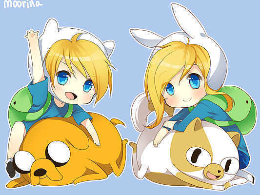 Baby fionna and finn