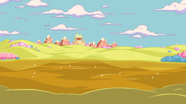 File:Candy Kingdom from Lake butterscotch.png