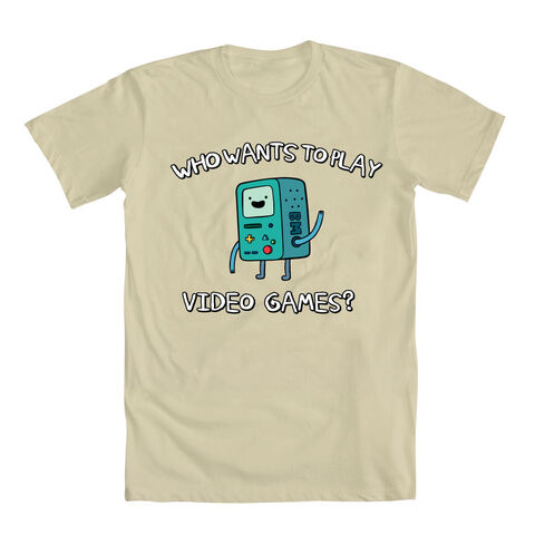 File:Who Wants To Play Video Games Beemo Shirt.jpg