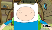 S4e14 Finn closed eyes