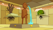 S4 E20 Castle Lemongrab fountain