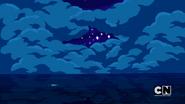 Finn on the ocean