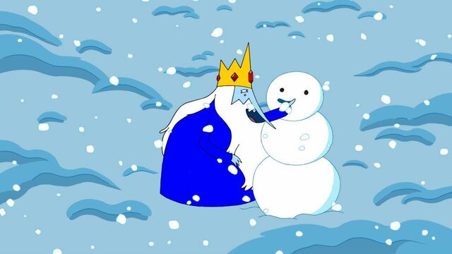 File:Ice King making the first snow man.jpg