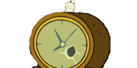 Gumbald's Outside Clock