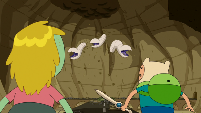 File:S6e21 Worms coming at Finn and Tiffany.png