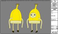 Modelsheet Banana Man