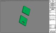 Modelsheet grassycuttingboard cutinhalf