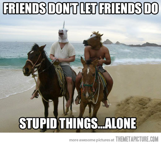 Funny-friends-horse-mask