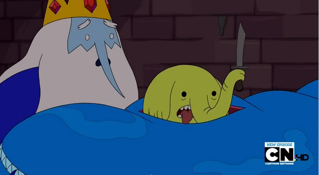 File:S5 e8 Tree Trunks cuts her way out of the fish's stomach.PNG