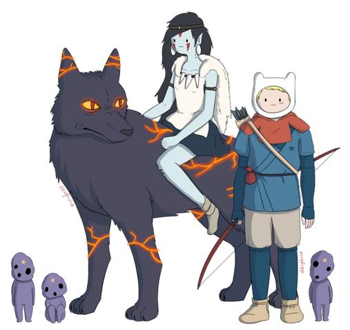 File:Adventure time x princess mononoke 2112407966.640x0.png