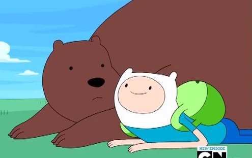File:S4e7 Bear and Finn.jpg