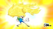 S2e10 finn's beautiful hair