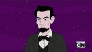 S4e15 Abraham Lincoln glaring