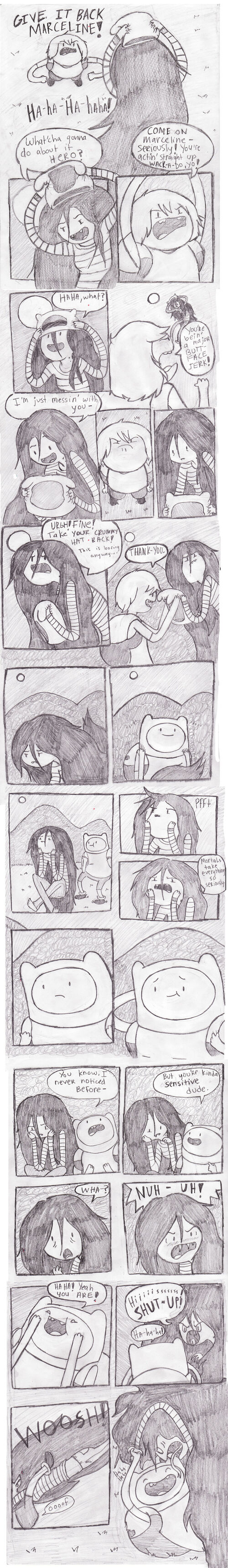 Marceline the jerk by thestinkyfoot-d4gm4j2