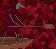 Nightosphere demon with boat
