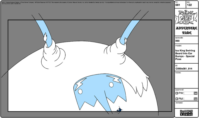 File:Modelsheet Ice King Swirling Beard into Ear Bumps - Special Pose.png