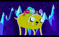 S1e3 princesses and finn riding on jake.png