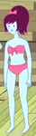 S5e20 bikini babe purple hair