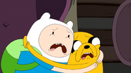 S7e19 Finn and Jake traumitised
