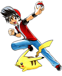File:Red Pokemon Adventures.png
