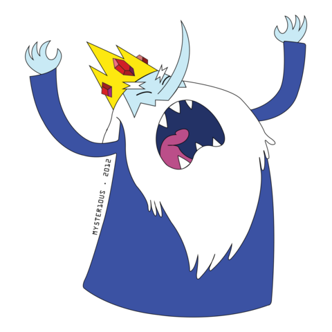 File:Ice king vector by mysterious master x-d5avs0u.png