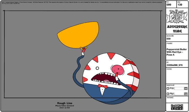 File:Modelsheet Peppermint Butler with Red Eye - Pose A.png