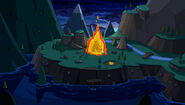 Flame princess house