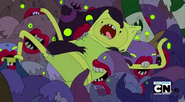 S3e13 zombies biting Finn