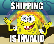 Shipping is invalid