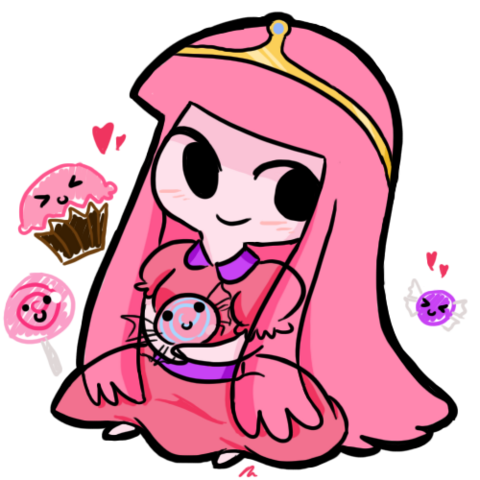 File:Chibi Princess Bubblegum by StarValerian.png