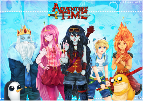 File:ADVENTURE TIME CHARES FP PB MARCY ICE KING FINN.png