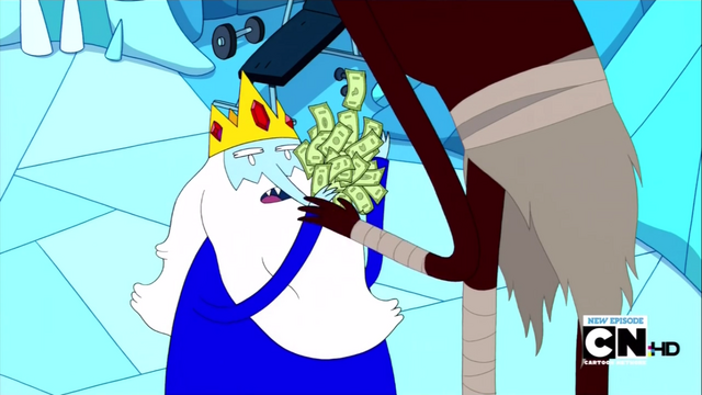 File:S3e4 Ice King trying to pay off Scorcher.png