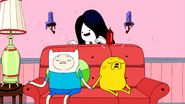 S2e26 Marceline scaring Finn and Jake