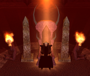 Old Man throne