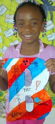 Letter B Faison-girl