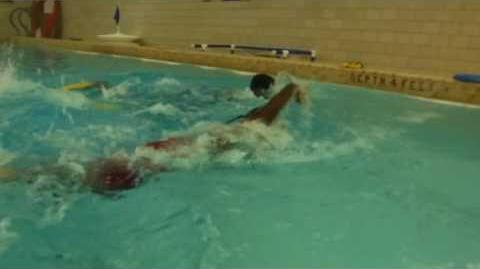 SDA17 - Swim & Water Polo - David and Wayne in short 2 width race