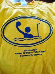 Tshirt design Swim & Water Polo 2013