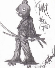 Gino from afro samurai by sakute89