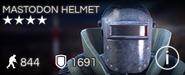 Mastodon Helmet