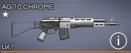 AG 10 Chrome 1 star