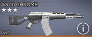 AG 10 Chrome 3 star
